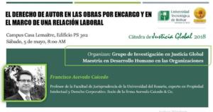 El Derecho de Autor en las Obras por Encargo y en el Marco de una Relación Laboral. Universidad Tecnologica de Bolivar