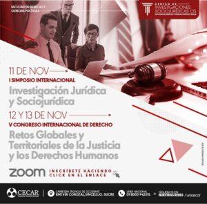Simposio Internacional de Investigación Jurídica y Sociojurídica