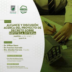 Alcance y Discusión acerca del Proyecto de Decreto sobre Hipoteca Inversa