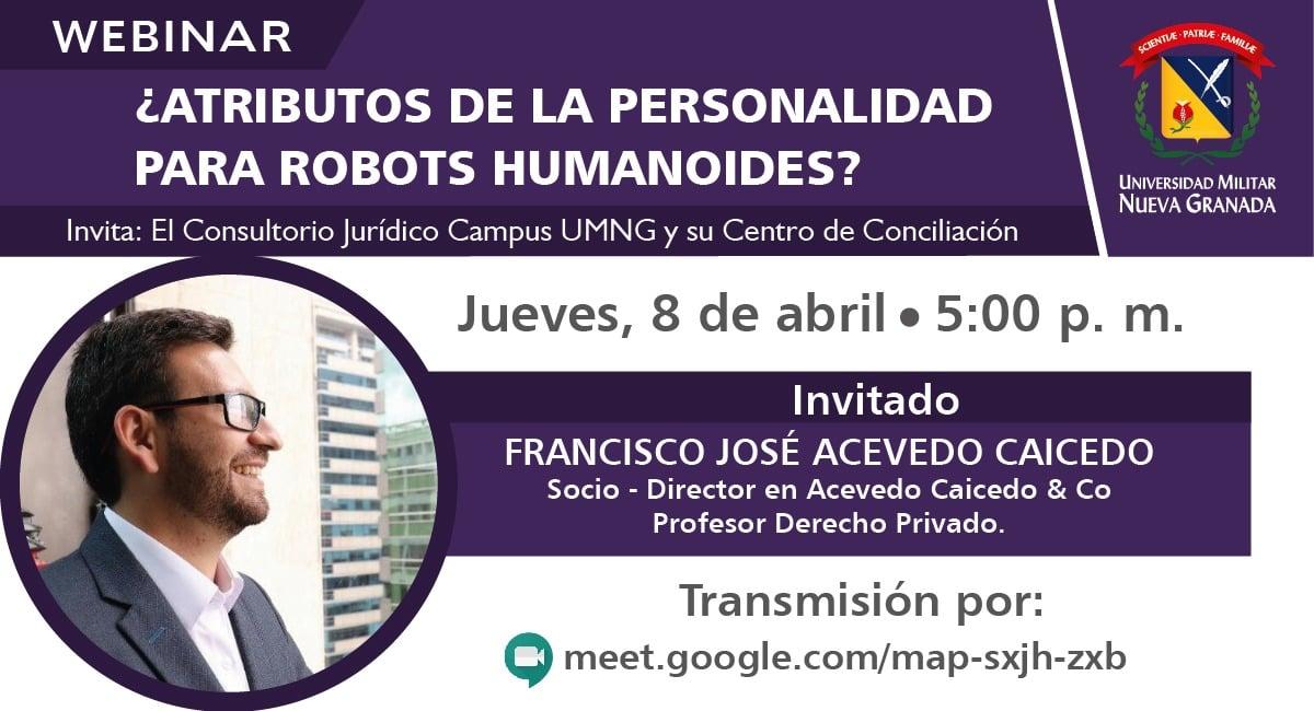 ¿ATRIBUTOS DE LA PERSONALIDAD PARA ROBOTS HUMANOIDES?